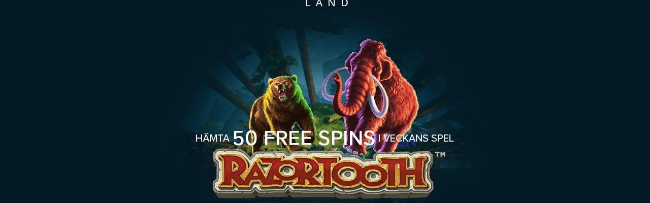 Casinolands tisdagserbjudande med freespins
