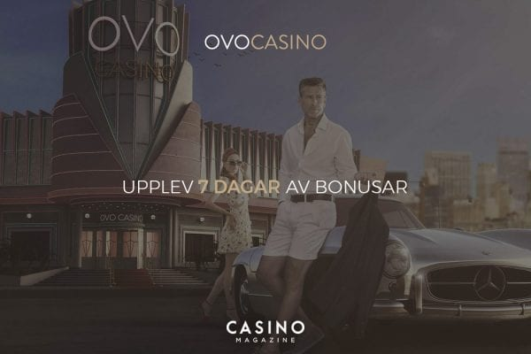 Bonusar varje dag hos OVO Casino