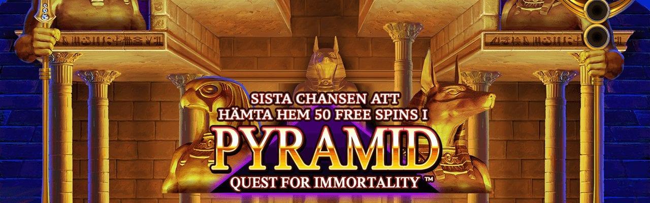 Expekt erbjudande freespins till Pyramid