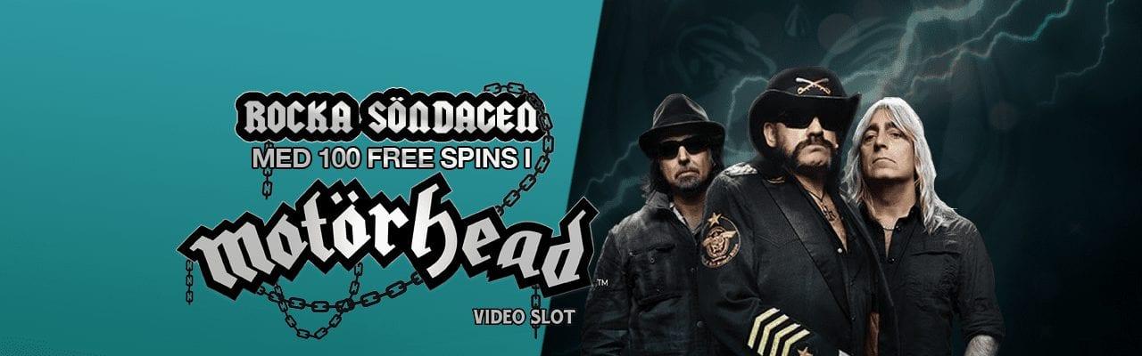 Fastbets free spins erbjudande med free spins i motörhead