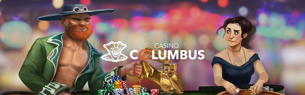 Happy Hour med free spins hos Casino Columbus