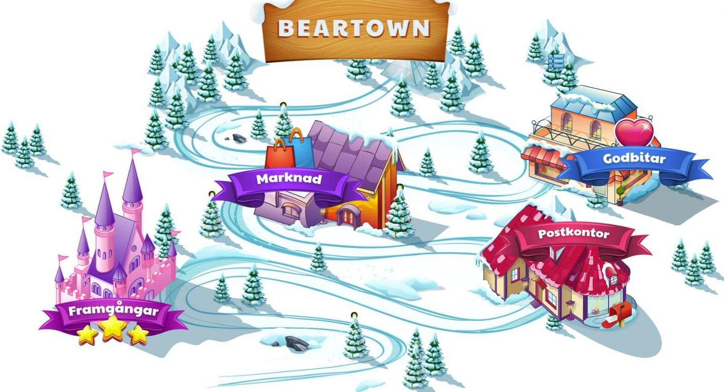 Ridikas BearTown - online casino