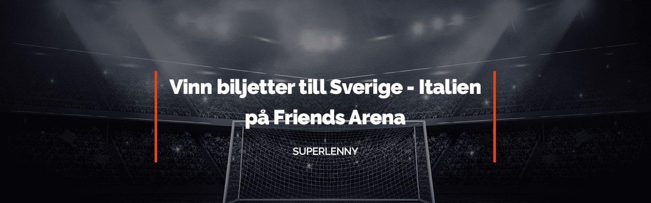 Spela hos SuperLenny och vinn matchbiljetter till Friends