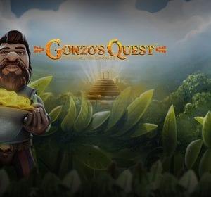 Gonzos Quest videoslot banner