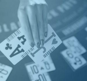 Blackjack hand spelbord