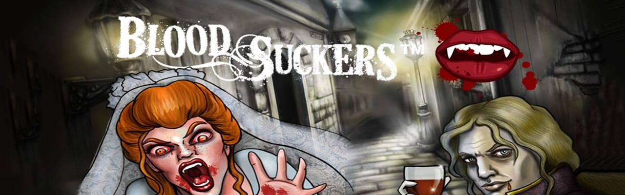 Blood Suckers spelautomat slot banner