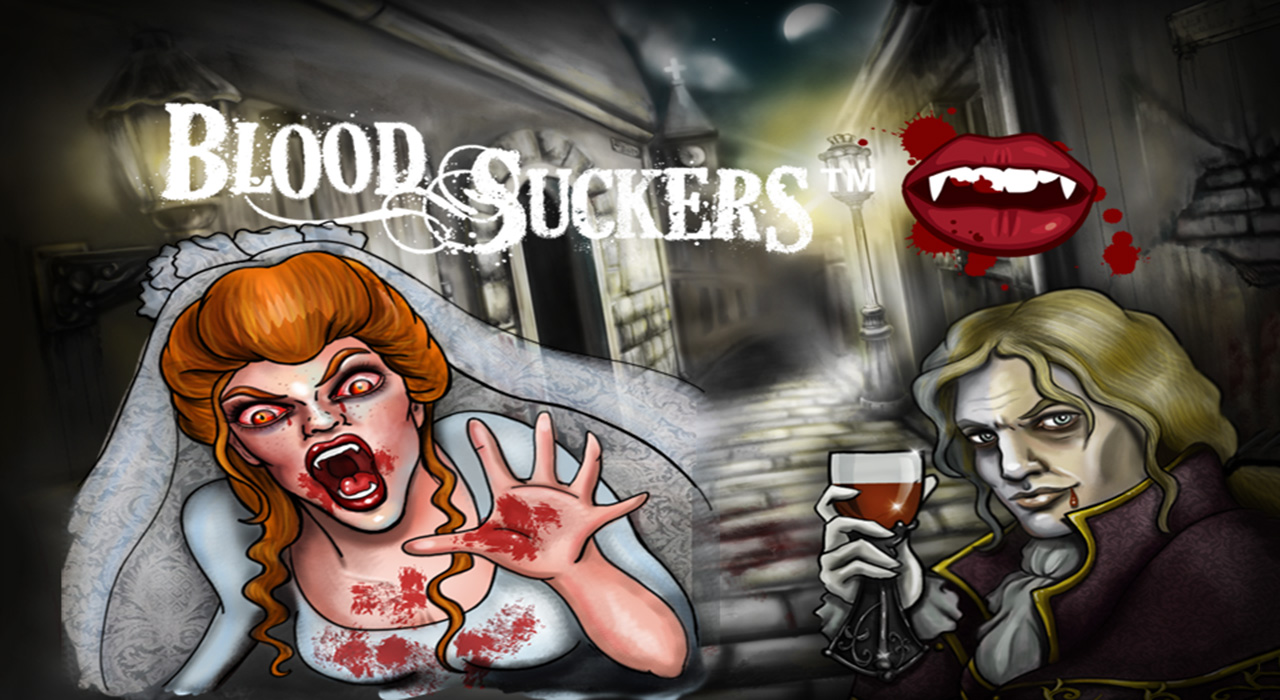 Blood Suckers spelautomat slot banner
