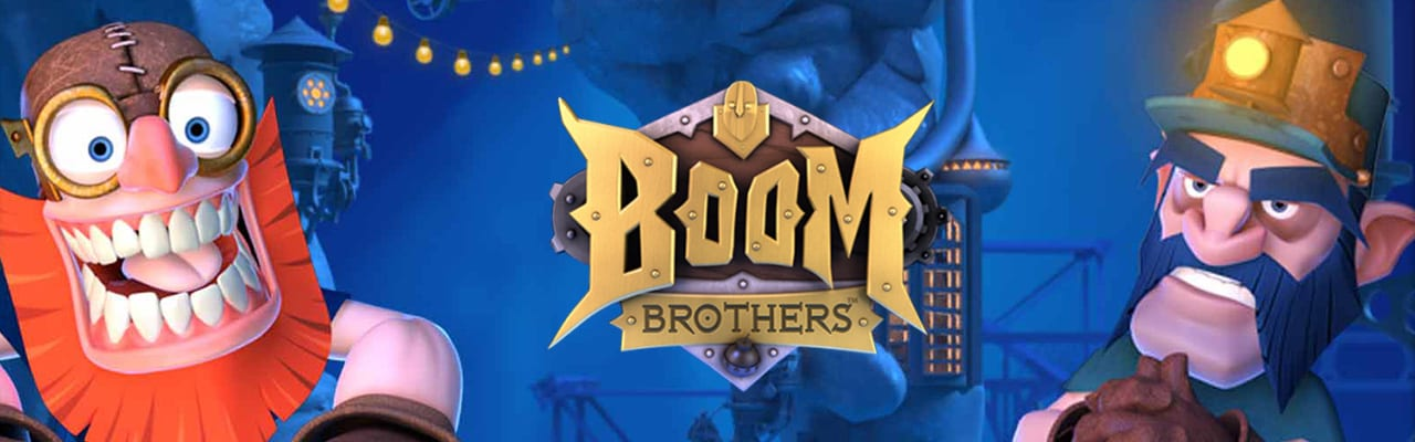 Boom Brothers spelautomat banner