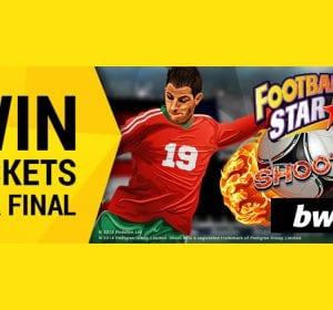 Bwin vinn fotbollsbiljetter banner
