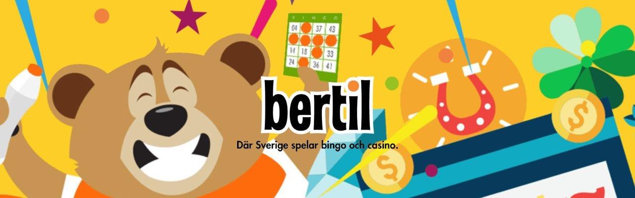 Bertil Casino banner casinomagazine
