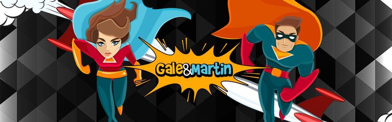 Gale&Martin startsida