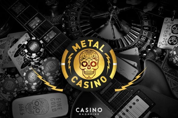 Metal Casino startsida