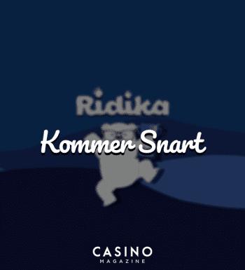 Ridika online casino kommer snart
