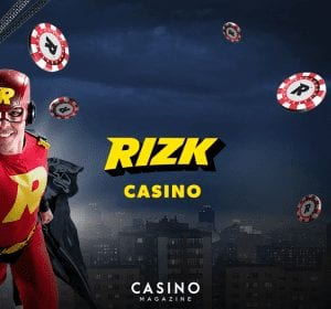 Rizk online casino banner