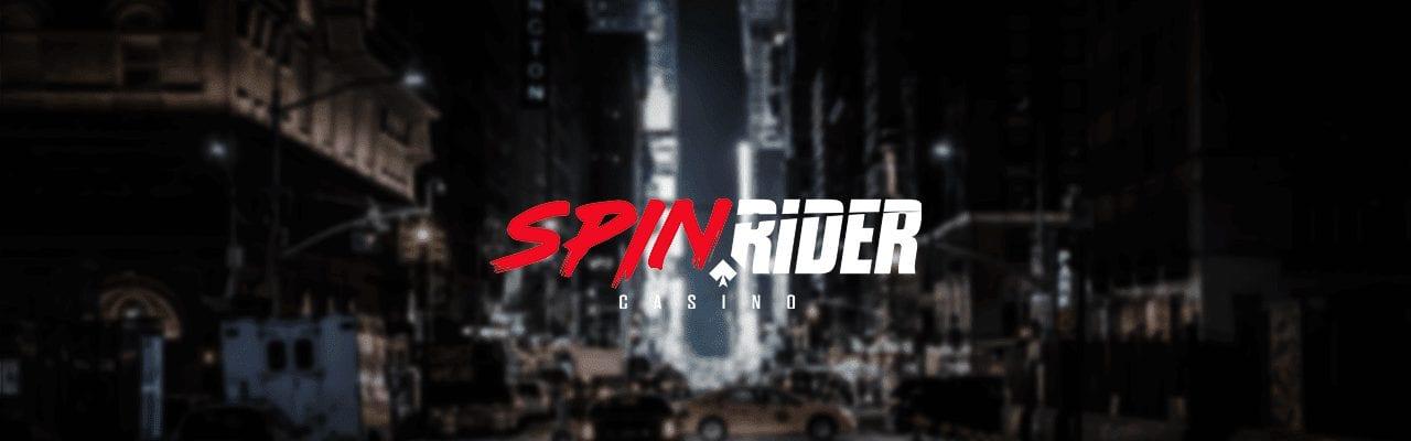 SpinRider casino med logga