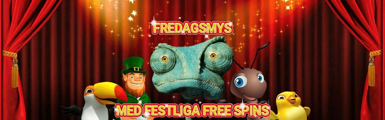 SverigeCasino bjuder in till fredagserbjudande med free spins