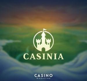 Casinia casino banner CasinoMagazine