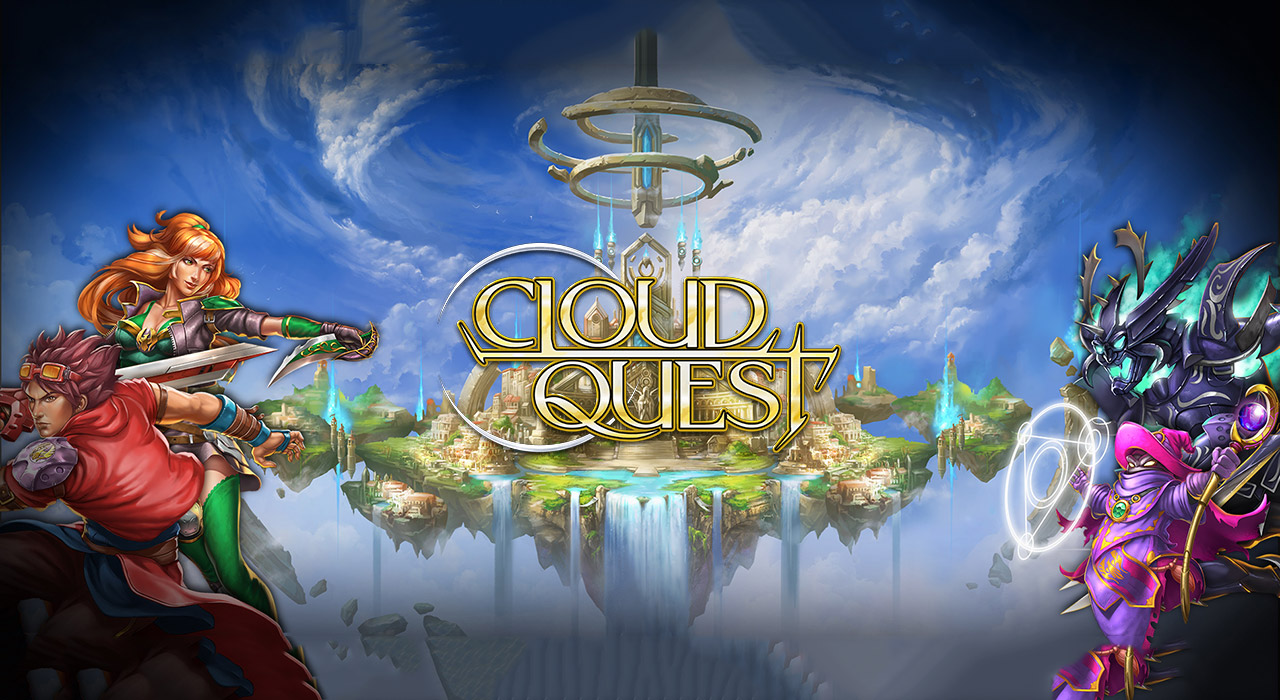 Cloud Quest slot banner casinomagazine