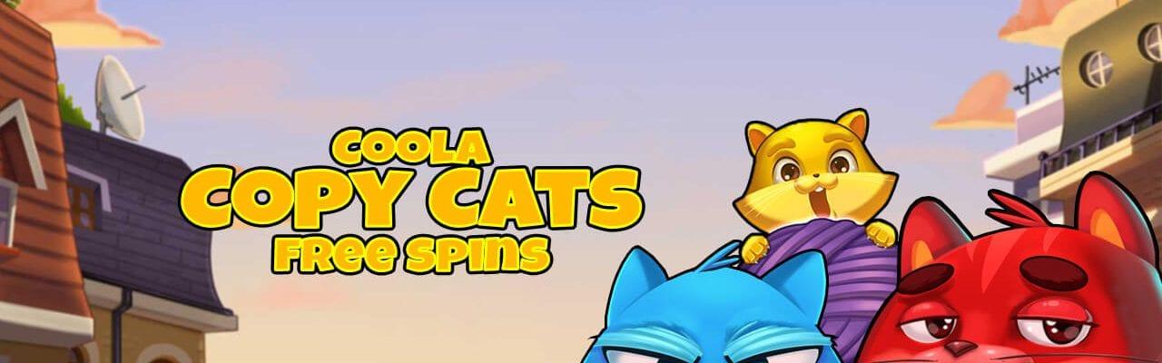 Casinostugan Copy Cats slot spins
