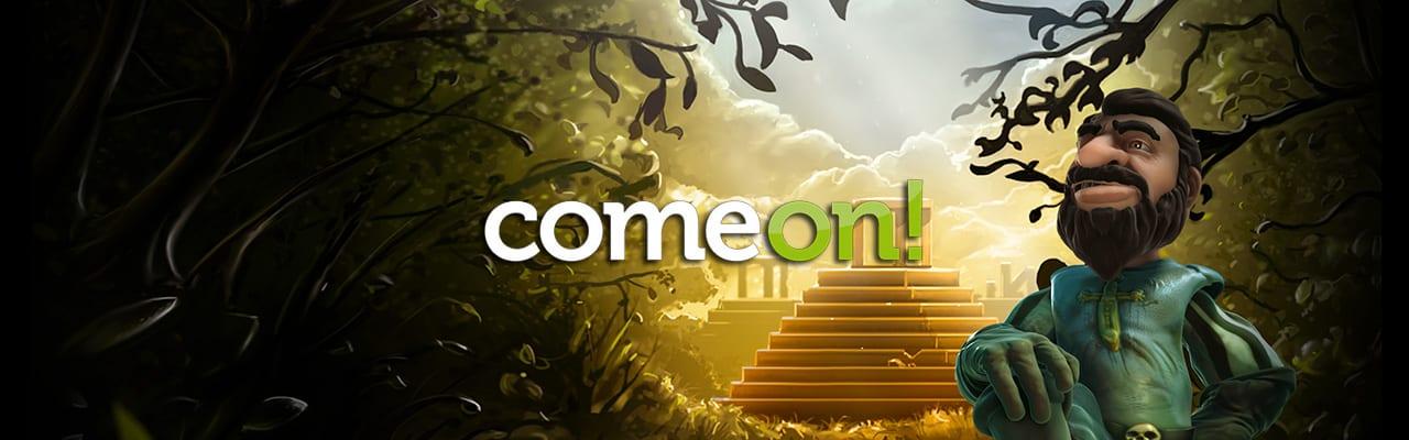 Comeon Gonzos Quest banner