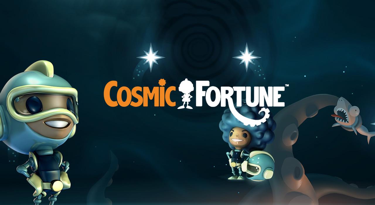 Cosmic Fortune - NetEnt videoslot banner CasinoMagazine