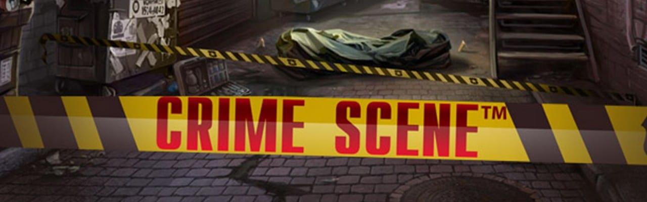 Crime Scene slot banner