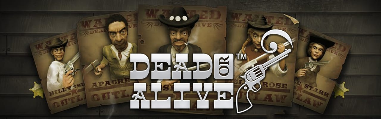 Dead or Alive spelautomat banner