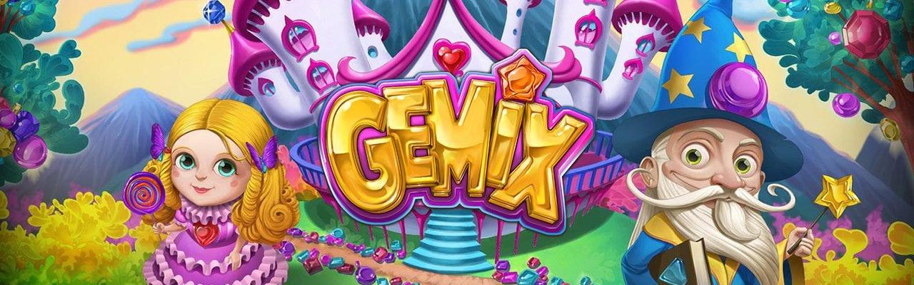 Gemix online slot - banner sagoslot