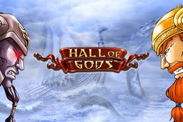 Hall of Gods slot banner