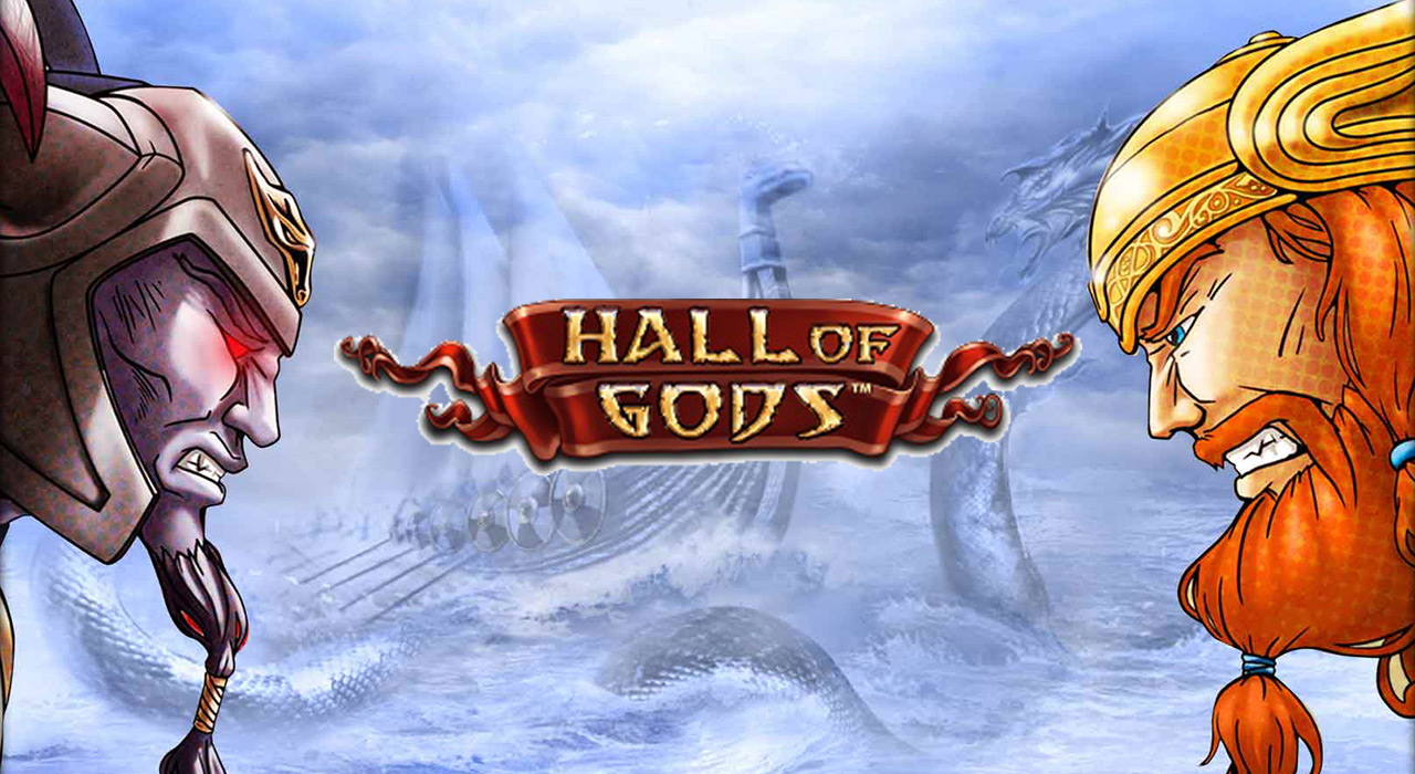 Hall of Gods slot banner