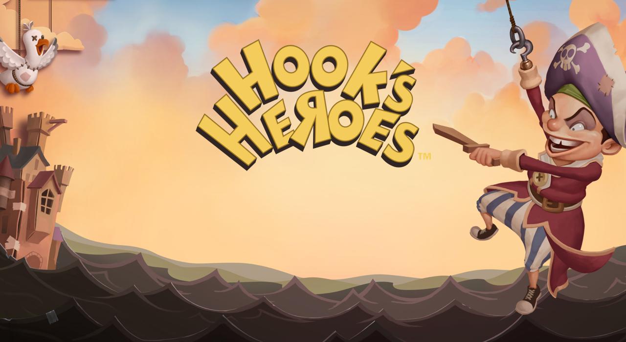 hooks-heroes videoslot banner