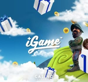 iGame cashdrop banner