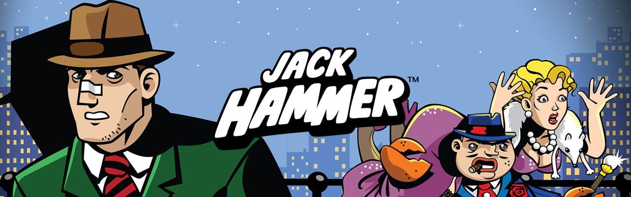 Jack Hammer Videoslot banner