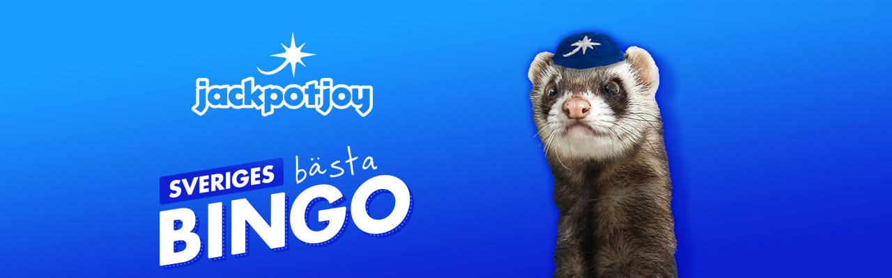 Jackpotjoy bingo casino maskot - banner