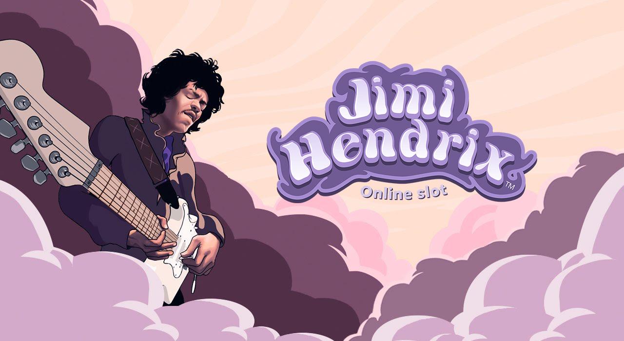 Jimi Henrix online Videoslot banner Casinomagazine