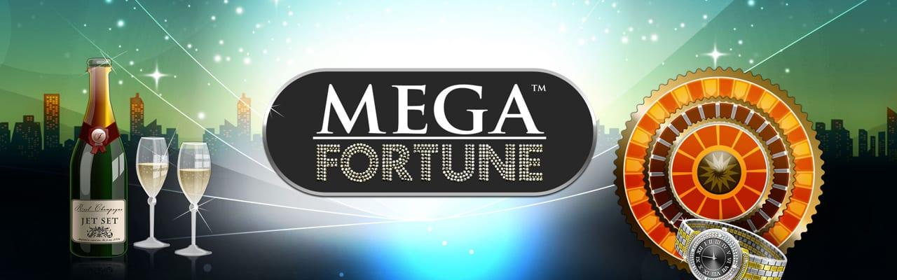 Mega Fortune Jackpottslot banner