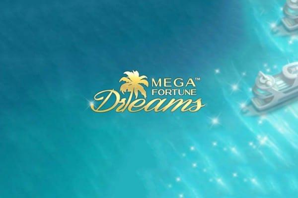 Mega Fortune dreams Jackpottslot banner