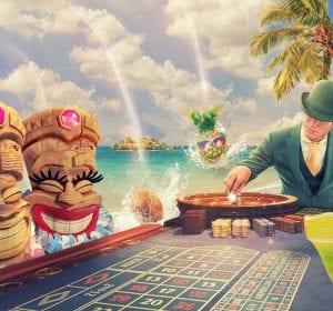 Mr Green strandfest roulettebord Alhoa banner
