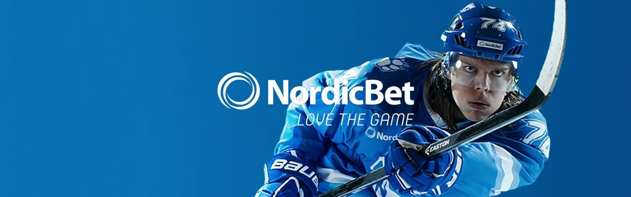 Nordicbet - hockey banner