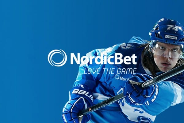 Nordicbet - hockey banner