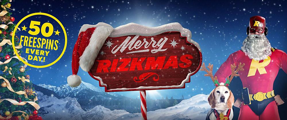 Vinn Free Spins varje dag under Rizk.com julkampanj