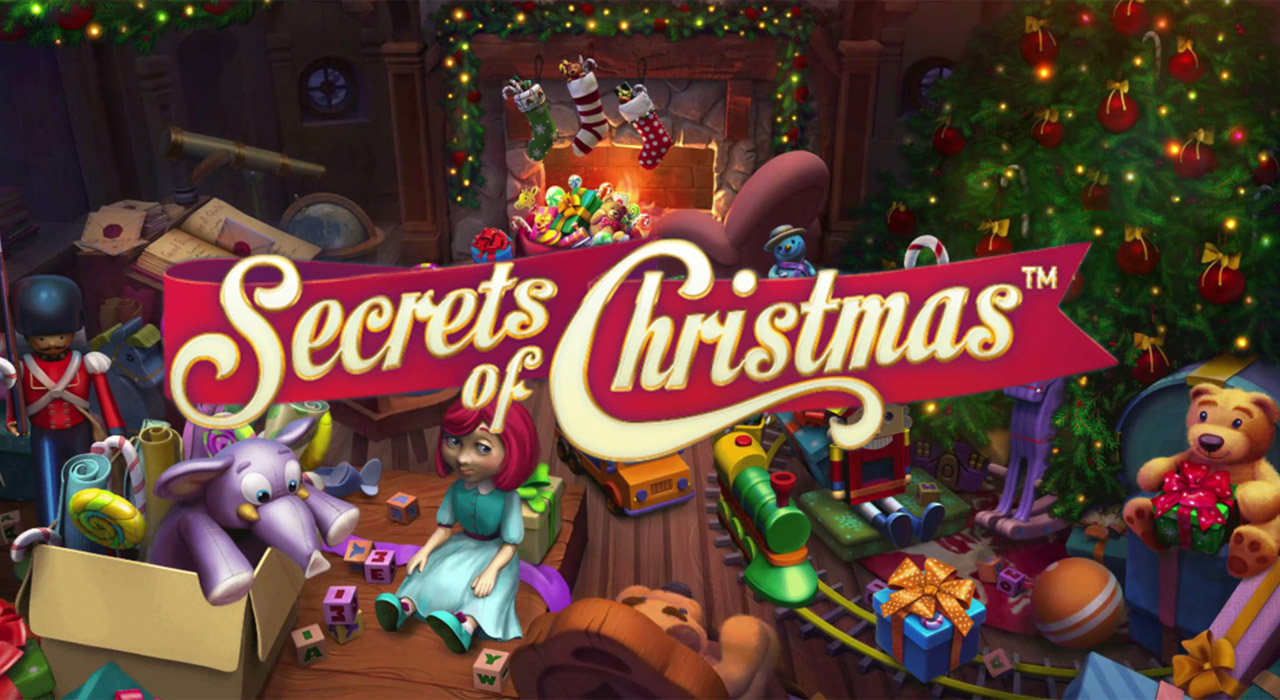 Secrets of Christmas spelautomat banner