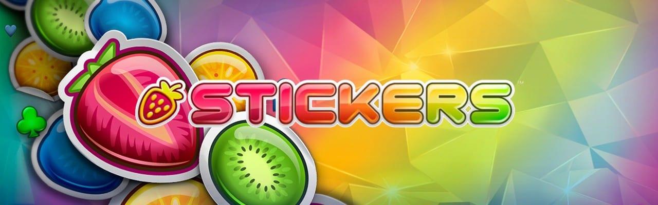 Stickers videoslot casino online banner