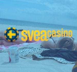 Svea Casino banner strand