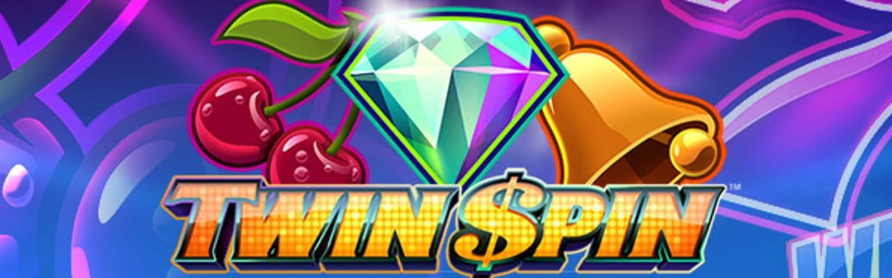 Twin Spin videoslot banner