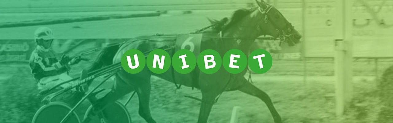 unibet trav - bild travhäst banner